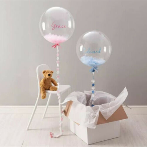 """1pc 10/""""-36/"""" Transparent Clear Balloons Birthday Wedding Party Decor NO WrinkleHG"""