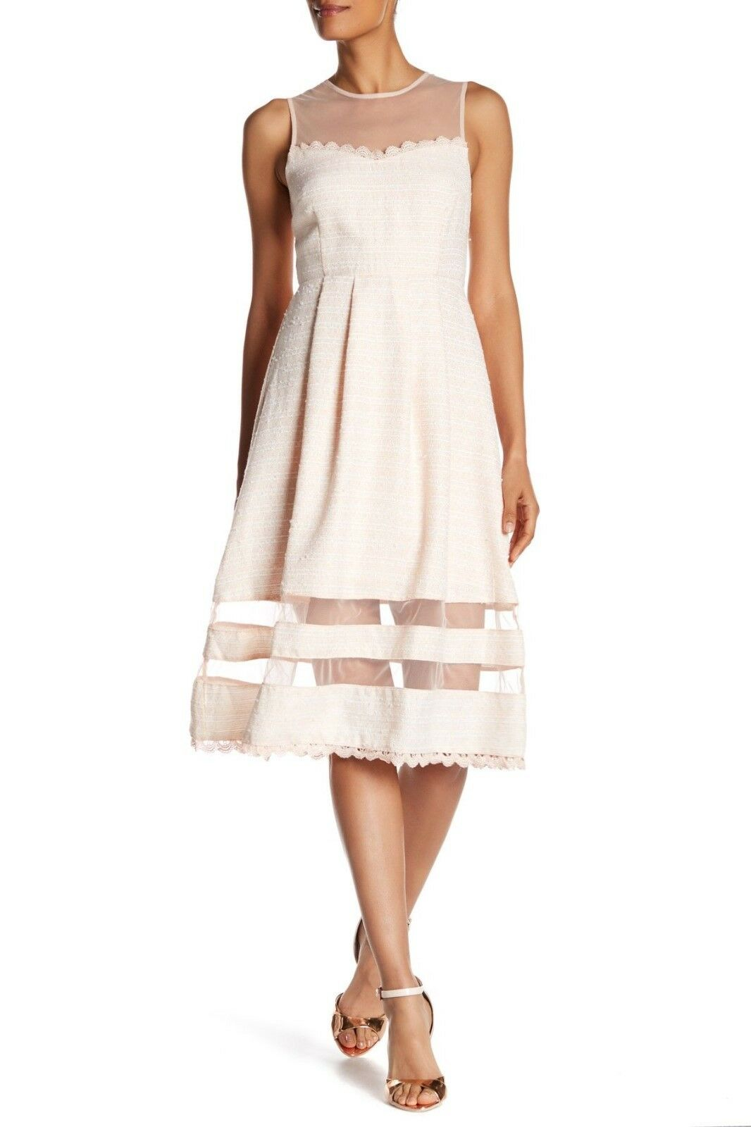 Just Me light pink Dress Size Small