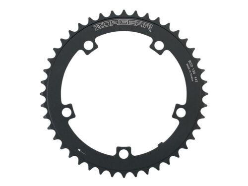 New Zoagear Single Speed Chainring 130 BCD 44 Teeth Track Fixed Gear Bike Black