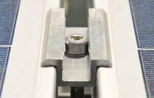 Solarmodul Komplett Befestigungsset Rahmenhöhe 30-50 Mm Considerate Solar Mittelklemme