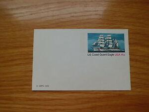 USA Postkarte 1978/ US Coast Guard Eagle/ USA 14 c/ NICHT gebraucht! - Mannheim, Deutschland - USA Postkarte 1978/ US Coast Guard Eagle/ USA 14 c/ NICHT gebraucht! - Mannheim, Deutschland