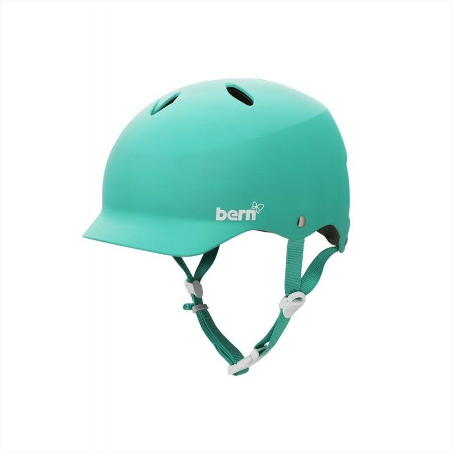 Bern Lenox (Watts) Ladies' Watersports Helmet Canoe Wake, Large Turquoise. 48835