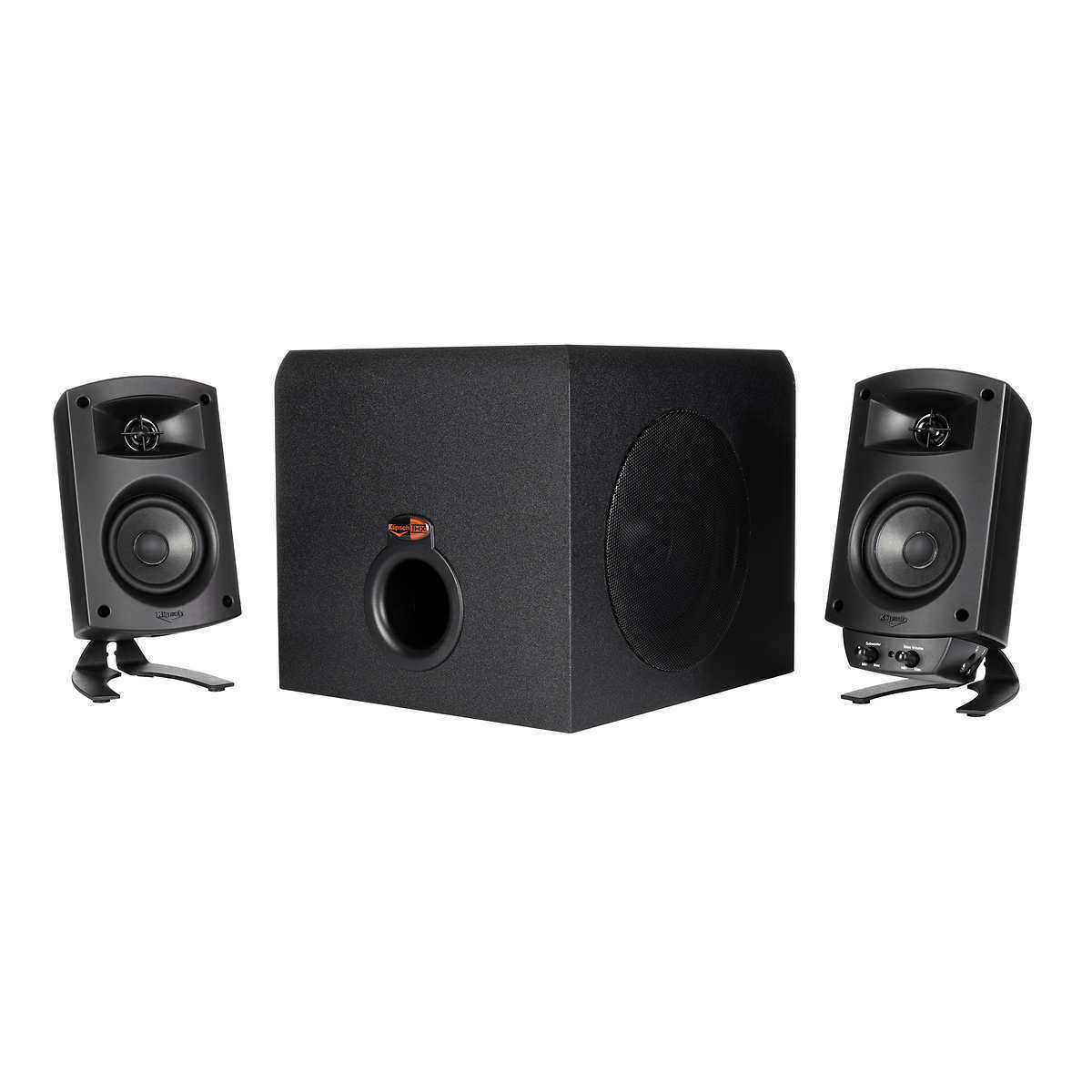 New Open Box Klipsch ProMedia 2.1 THX Certified Computer Speaker System - Black. Buy it now for 89.99
