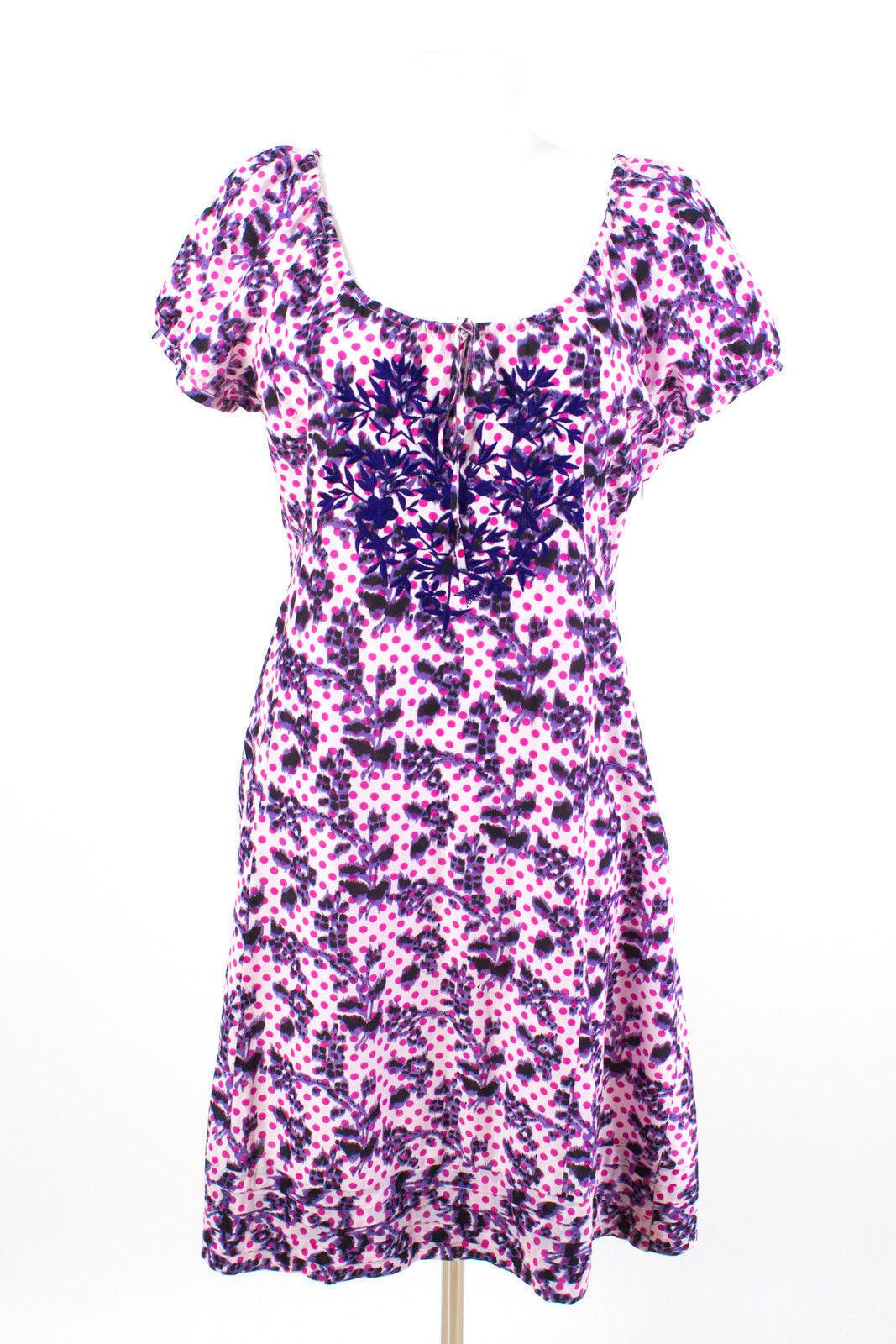 Paisley Park Kleid Gr. 2XL   44 Baumwolle-Seide-Mix A-Linie Sommerkleid Dress