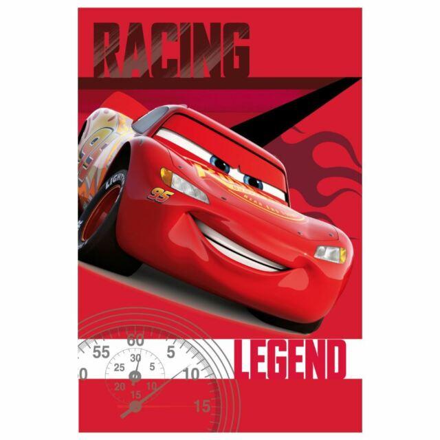 Disney Cars Racing Legend Fleece Blanket Boys 100% Polyester 100cm x 150cm