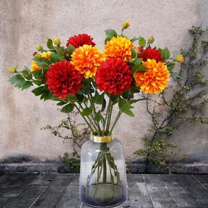 Am-1Pc-2-Head-Artificial-Dahlia-Flower-Plant-Wedding-Party-Store-Home-Decor-Eye