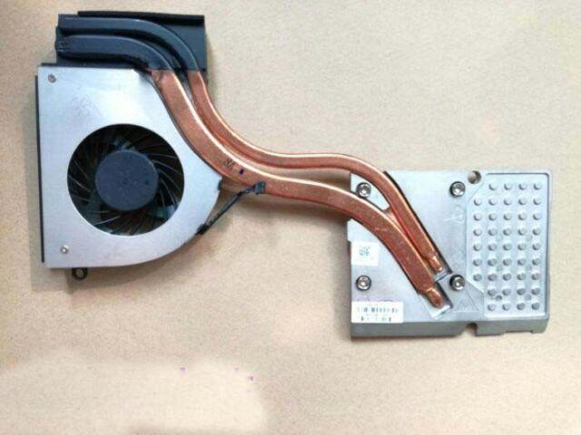 NEW HP ZBOOK 17 CPU GPU Cooling Fan With Heatsink 786687-001 735372-001