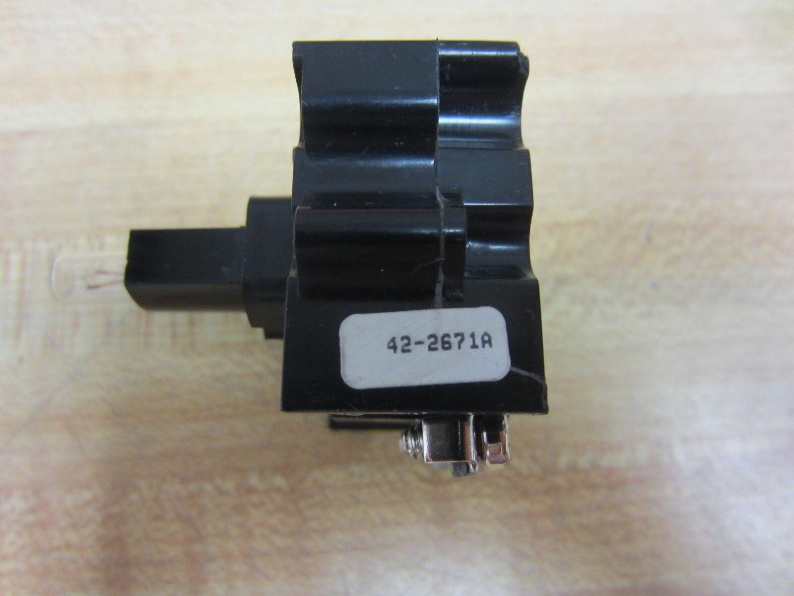 Cutler Hammer Eaton 42-2671 A unidad de 3) luz 422671 A (paquete de 3) de b66951