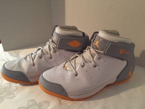 hombre 1 de para 2013 Air Calzado Jordan naranja Melo baloncesto 12 Talla Nike 5 gris qP1wnp