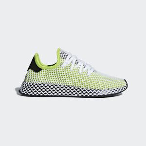 Adidas Originals Deerupt Runner Semi Solar Slime Running