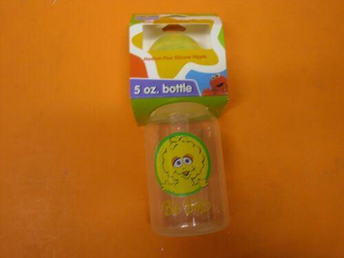 Months Plastic BPA Free Medium Flow Silicon 5 oz Sesame Street Baby Bottles 0
