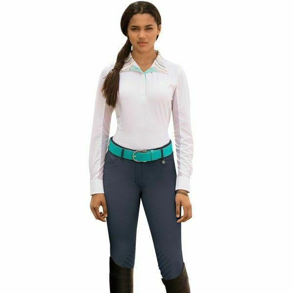 Romfh Ladies Sarafina Euro Grip Riding Breeches with Silicone Knee Patches