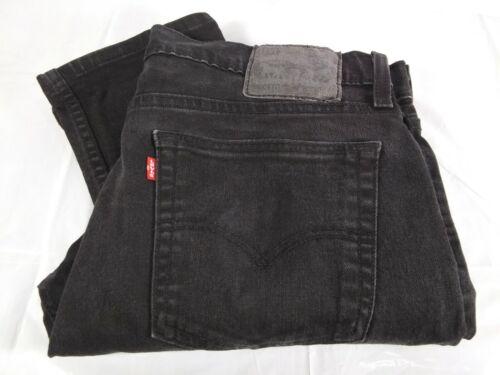 Levis 510 Black Denim Jeans Mens Size 33 x 29