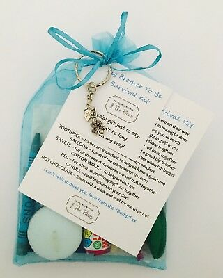 Daddy To Be From The Baby//Bump Survival Gift Kit With Keyring Gift//Present