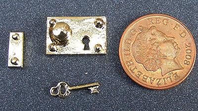 1:12 Scala Metal Set Chiavi Lock & Casa Delle Bambole Accessorio Maniglia Porta In Miniatura 600- Un Arricchimento E Nutriente Per Il Fegato E Il Rene