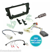 Double DIN Car Stereo Fascia Fitting Kit Steering Control for Toyota Prius 2010