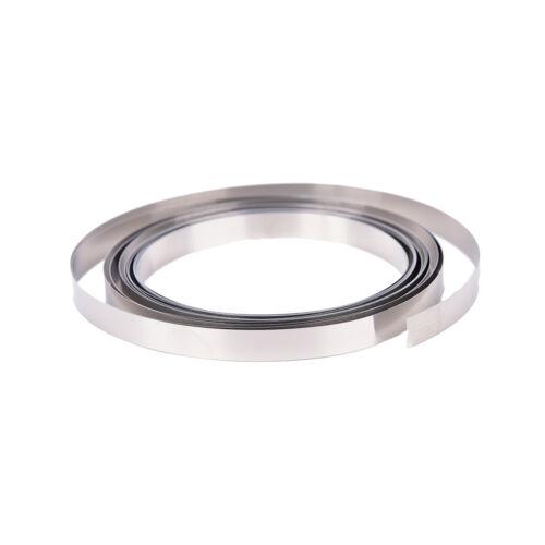 3Meter 8mm x 0.15 Pure Ni plate nickel strip tape for Li 18650 battery spot weZY