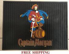 CAPTAIN MORGAN SPICED RUM SPILL MAT BAR MAT COASTER NEW