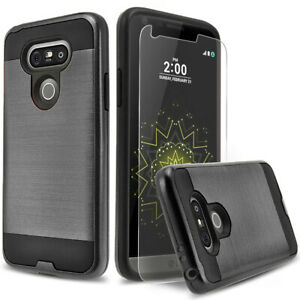 For-LG-G6-G5-G4-G3-Phone-Case-Shockproof-Cover-Premium-Screen-Protector