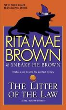 Mrs. Murphy: The Litter of the Law : A Mrs. Murphy Mystery 22 by Rita Mae Brown (2014, Paperback)