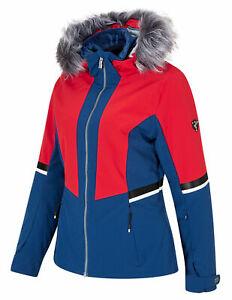 Ziener-Damen-Ski-Jacke-Winterjacke-trendige-Skijacke-TOYAH-lady-blau-rot