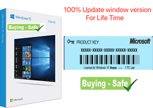 Window10-Home-License-Product-Genuine-Code-32-64-Bit-5-Second-Worldwide-Delivery