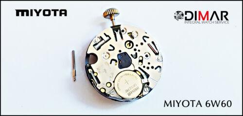 MOVIMIENTO MIYOTA CAL 6W60