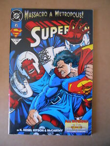 Franc Superman N°34 Ed.dc Comics Play Press [g698]