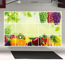 Kitchen Removable Wall Stickers Vinyl Art Kitchen Decal Mural Decor Oil Proof