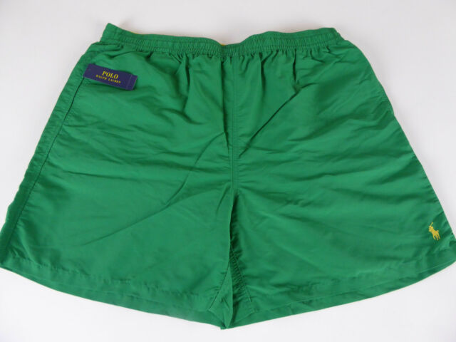 Polo Ralph Lauren Mens Kailua Octopus Swim Wear Cargo Trunks Shorts $75 Pony NWT