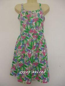 02fd1c01 Primark Green Floral Mini Cover up Bikini Swim Beach Summer Cross ...