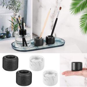 2 Pack//Set Resin Toothbrush Holder Countertop Razor Stand Organizer for Bathroom