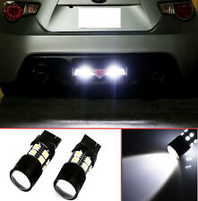 Projector LED Reverse Light Bulbs T20 7440 7441 7443 7444 for Subaru WRX / STI