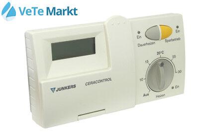 junkers termostato ceracontrol tr 100 senza muro di base. Black Bedroom Furniture Sets. Home Design Ideas