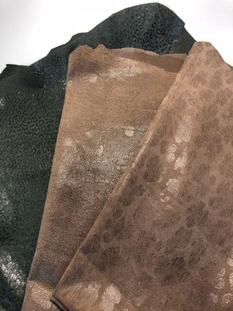 Cut Italian Lambskin leather Cut skin Lamb Nappa  Dark Red  1 oz Extra Thin Pre
