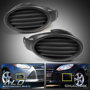 Fog Light//Lamp Grille RH /& LH Ford Transit Connect 2006-2009 Front Bumper Pair