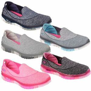 46 off ladies skechers go flex walk slip on lightweight womens street shoes ebay. Black Bedroom Furniture Sets. Home Design Ideas