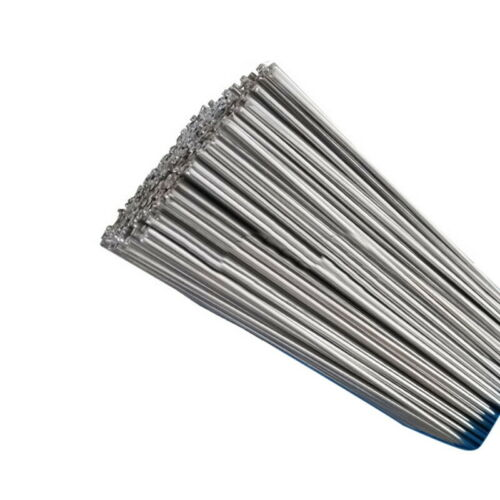 50PCS Silver Aluminium Welding Brazing Rods Wire Low Temperature 2mm 50 cm UK