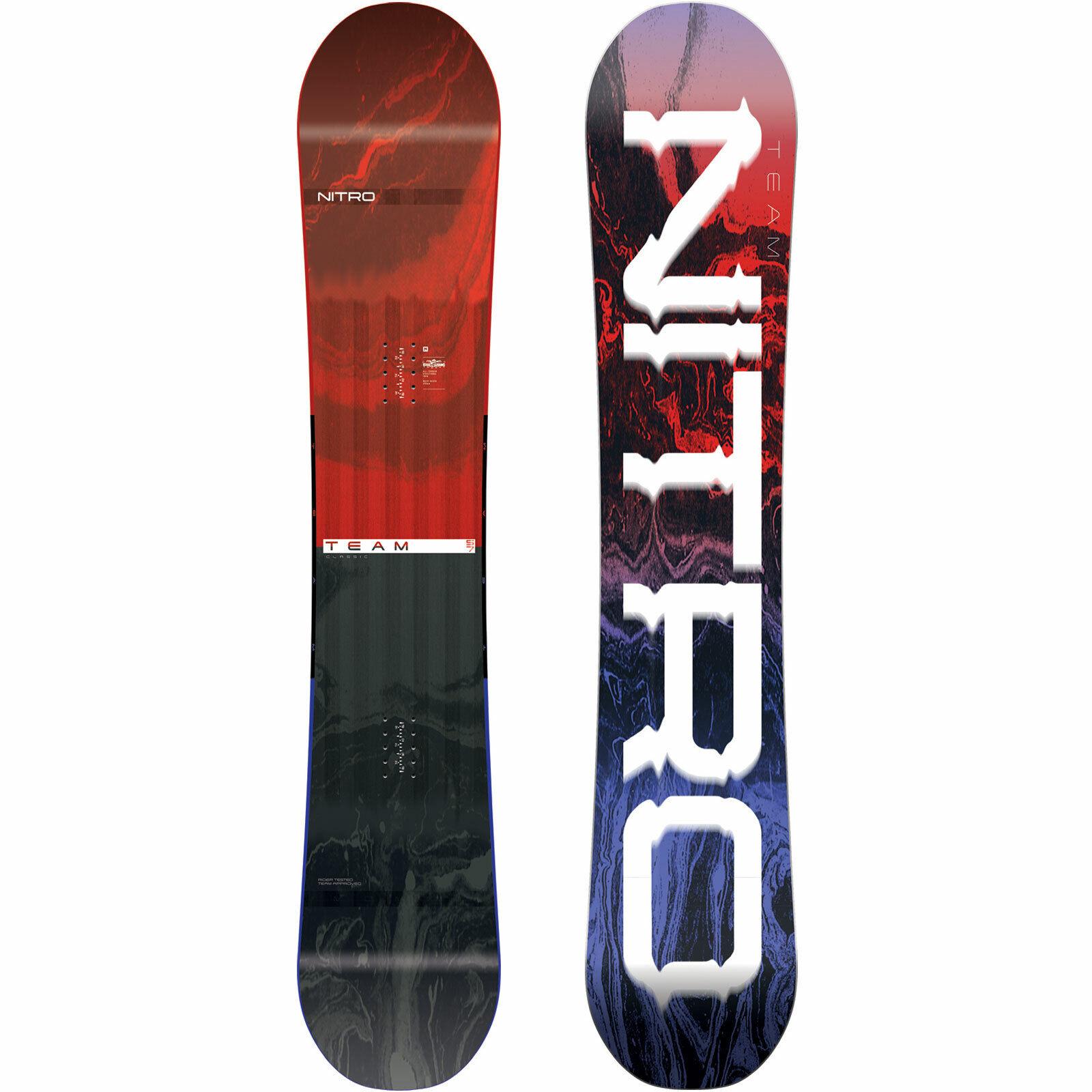 Nitro Squadra da da da Uomo Snowboard All Mountain Freestyle Gullwing Sedia a Dondolo 6d5702