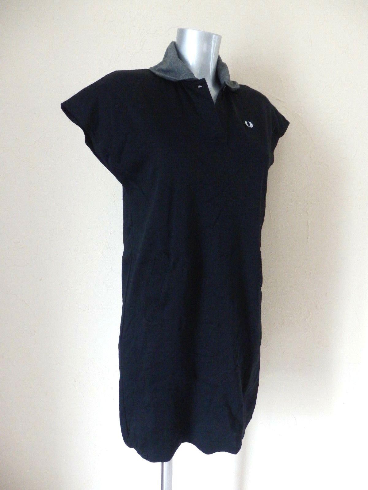 Frot PERRY - Kleid - schwarz Baumwolle - Größe 8jp d.h. 38fr - authentisch