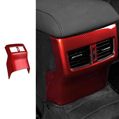 For Mazda 3 Axela 20-2021 Red Carbon Fiber Rear Air Outlet ...
