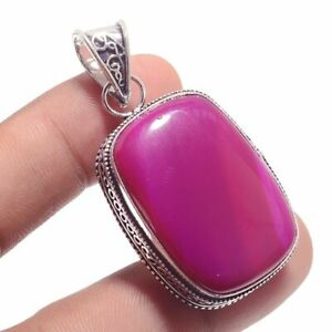 Botswana-Agate-Ethnic-Jewelry-Handmade-Antique-Desgin-Pendant-BP-2002