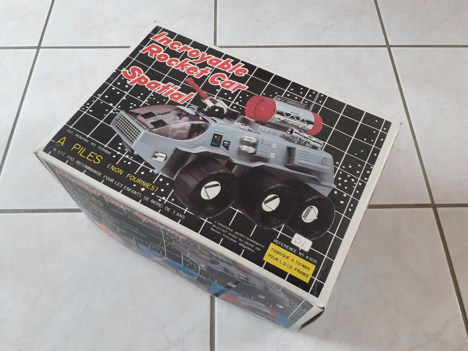 Jouet Vintage  Rocket Car Spatial Jamais Servie.