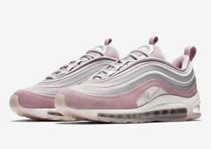 Details about W Nike Air Max 97 17 LX Ultra AH6805 002 Vast Grey Particle Rose Pink velvet