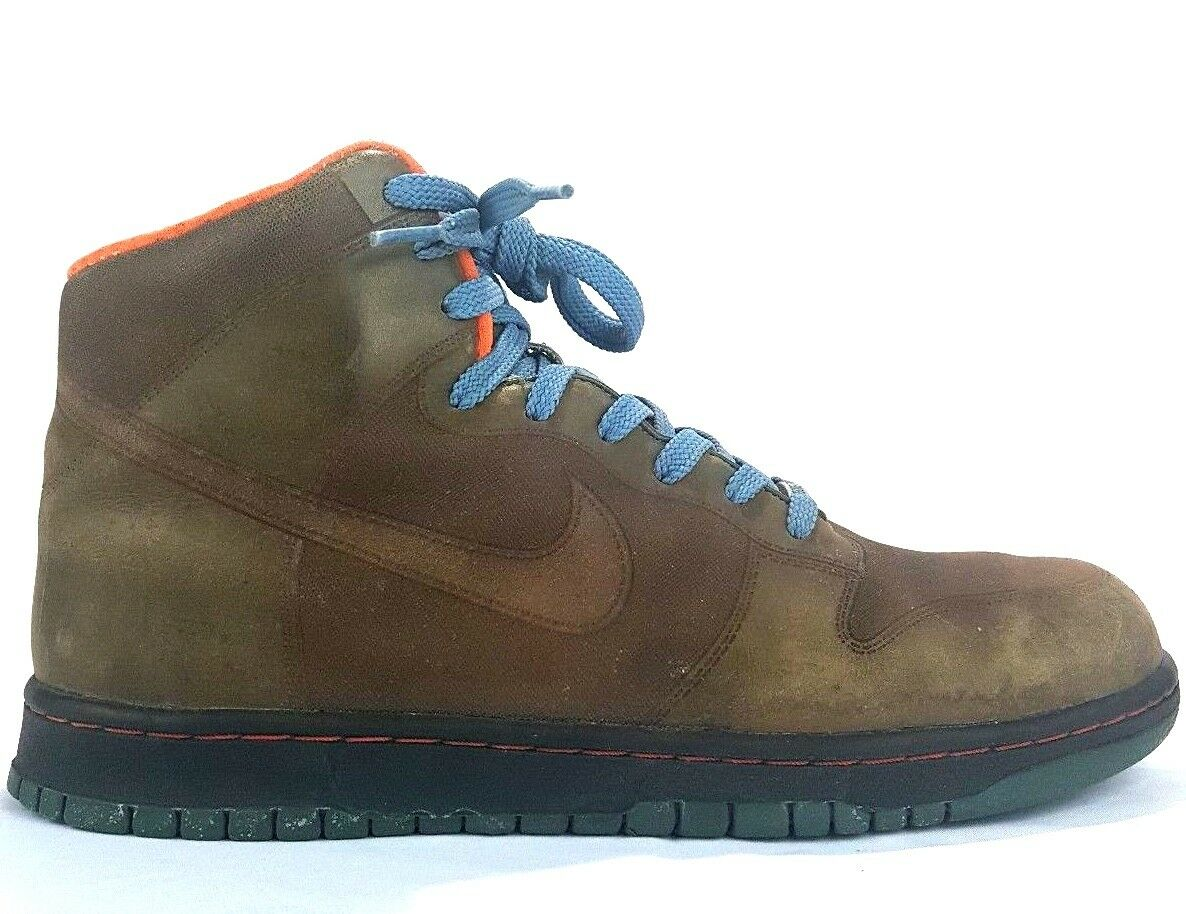 New shoes for men and women, limited time discount NIKE DUNK HIGH 1 PIECE GORTEX ADVENTURE PACK ARMY Comfortable