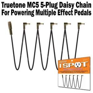 1-SPOT-Multi-Plug-5-Cable-Daisy-Chain-Guitar-Pedal-Adapter-MC5-Visual-Sound