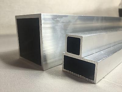 Aluminium Vierkantrohr//Rechteckrohr 50 x 30 x 2 mm x 2.000+-4 mm