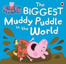 Peppa Pig: The Biggest Muddy Puddle in the World Picture Book,  | Paperback Book
