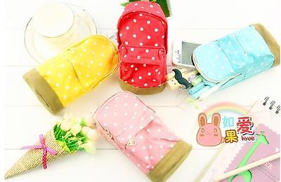 TIAU New mini School bag Pen Case Student's Canvas Pencil Case Children Pen Bag