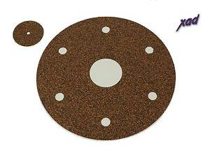 THORENS-TD124-Xad-CORK-TURNTABLE-INTERMAT-damps-main-platter